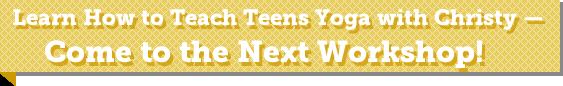 Teaching Teens Yoga